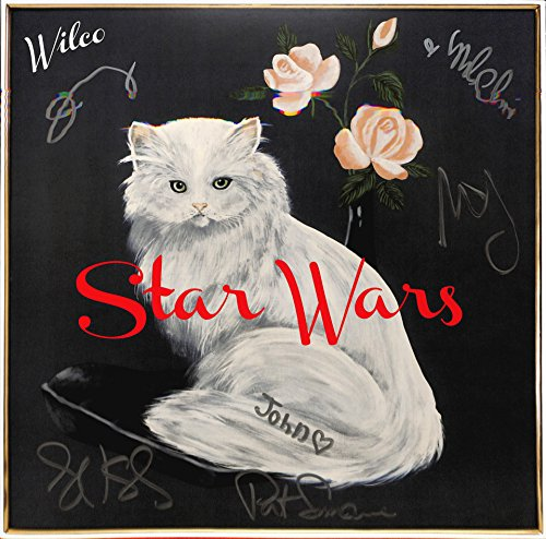 Wilco Autographed 'Star Wars' Album [signed on cover by all six]. PSA/DNA.