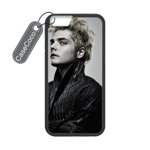 CASECOCO(TM) My Chemical Romance iPhone 6 Case - Protective Hard Back / Black Rubber Sides Case for iPhone 6 (4.7-inch)