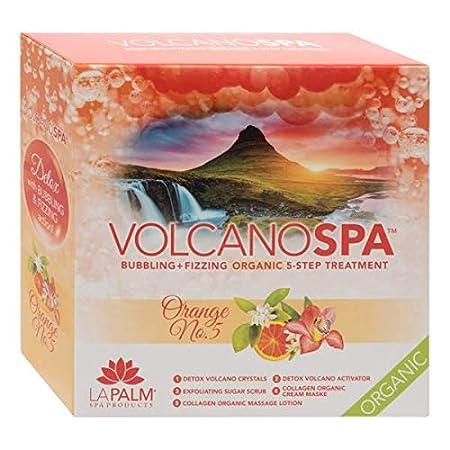 La Palm Volcano Spa 5 Step Pedicure Kit (Tropical Citrus)