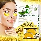 Econobum Premium Collagen Eye Masks, Wrinkle Care and Energizing - Hydrating and Anti-Aging