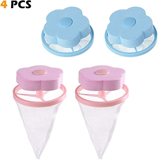 Lint Catcher For Washing Machine Floating Hair Fur Catcher Lint filter Trap Bag