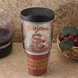 Tervis 1064068 Boston College Wrap Tumbler with Black Lid, 24 oz, Clear by Tervis