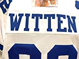 Jason Witten Dallas Cowboys Signed Autograph White Custom Jersey Witten Player Hologram JSA Witnessed Certified