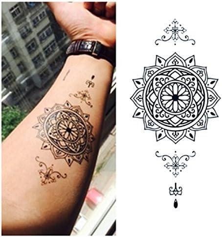 LZC Nuevo 8x15cm Tatuaje Temporal Adulto para Hombro Brazo Grande ...