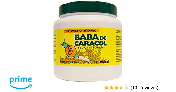 Amazon.com : Baba de Caracol Regenerative Hair Treatment, 37 Oz : Hair And Scalp Treatments : Beauty