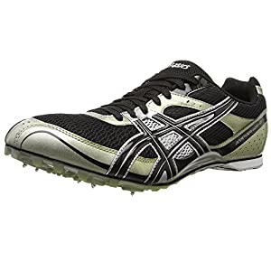 ASICS Men's Hyper MD Track And Field Shoe,Black/Onyx/Silver,13 M