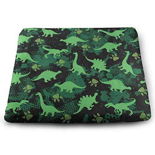 Pkolino Green Desk - Ladninag Seat Cushion Green Dinosaur Paw Print Chair Cushion Fantastic Offices Butt Chair Pads for Wheelchairs