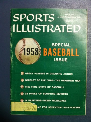 1958 Sports Illustrated April 14 Baseball Special Good to Very Good by Sports Illustrated