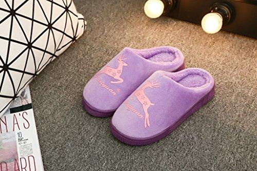 39 chaussons charmant et noir de hiver couple piscine femmes coton chaude l'hiver accueil Le l'automne pantoufles hommes et Usine fBHTwq