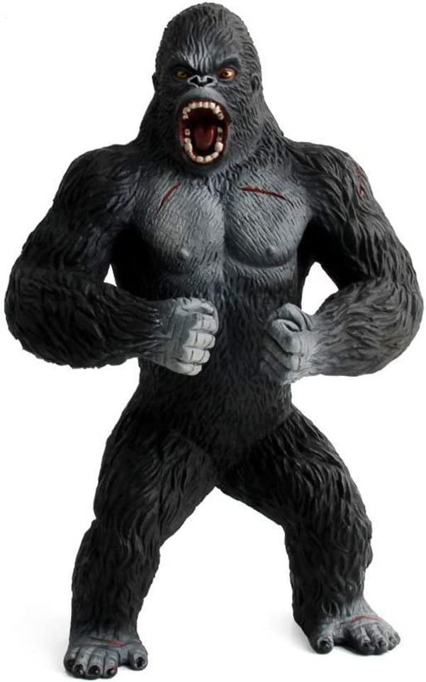 Simulación Fauna Modelo Sólido Decoración Gorila Juguete Conjunto