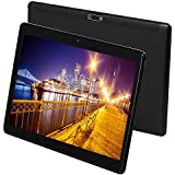 Fire Android Tablet 10 inch 3G Phone Call Android 7.0 Octa Core 1280x800 IPS Display Dual Camera WiFi GPS Bluetooth Tablets PC 4G+64G 7 8 9 Google Certified(Black)