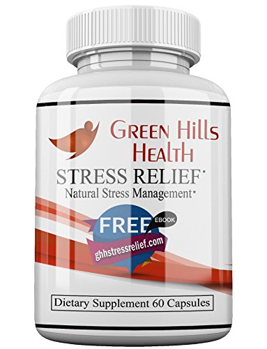 Anxiety Supplements for Women & Men. Natural Stress Relief Be In Control Calm Relaxed Positive Focused. L-Theanine and Ashwagandha Quickly Boost Serotonin to improve wellbeing. Best Anti Anxiety Pills