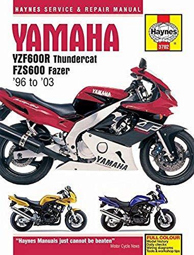 Coombs M Yamaha Yzf600r Thundercat Fzs600 Fazer 98 03 Haynes Service Repair Manual Coombs Matthew Fremdsprachige Bücher