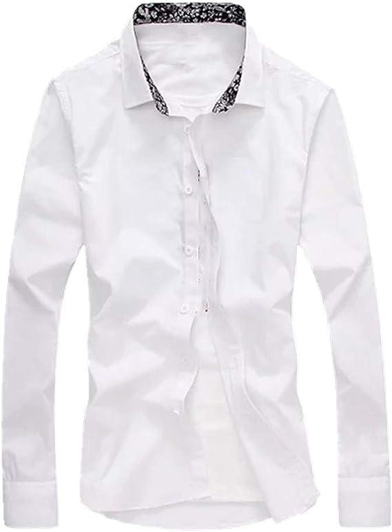 U/A camisa de hombre de manga larga Slim Business Casual ...