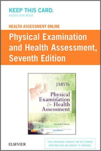 Health assessment online for physical examination and health health assessment online for physical examination and health assessment version 4 access code 7e 7th edition fandeluxe Images