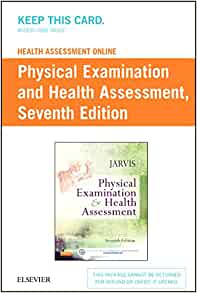 Health assessment online for physical examination and health health assessment online for physical examination and health assessment version 4 access code 9780323322256 medicine health science books amazon fandeluxe Gallery