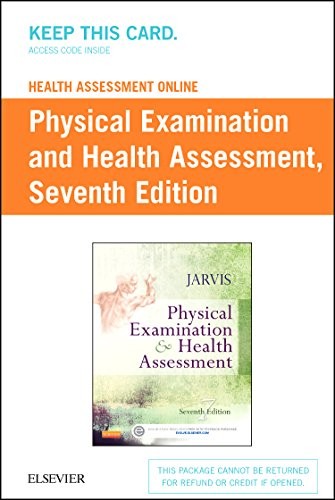 Health Assessment Online for Physical Examination and Health Assessment, Version 4 (Access Code), 7e by Saunders