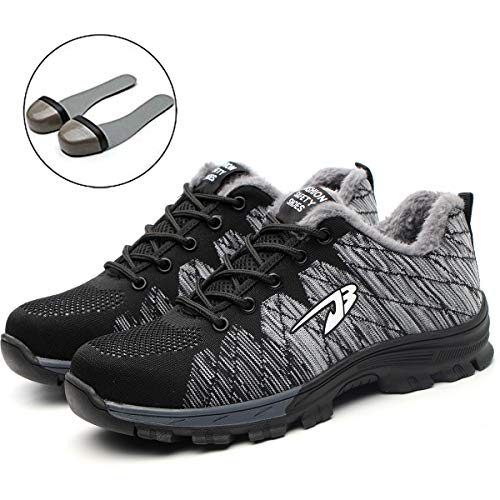 Chaussures Homme 05 Randonnée Fourrure Femme Chaussure Suadex gris Travail Baskets Sécurité De ZSFFHq