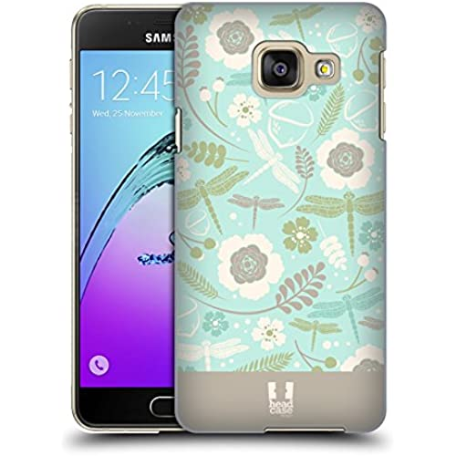 Head Case Designs Pale Turquoise Dragonflies Hard Back Case for Samsung Galaxy S7 edge Sales