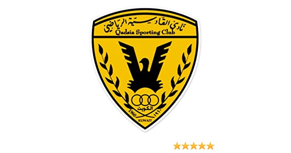 Qadsia SC - Kuwait Football Soccer Futbol - Car Sticker - 5