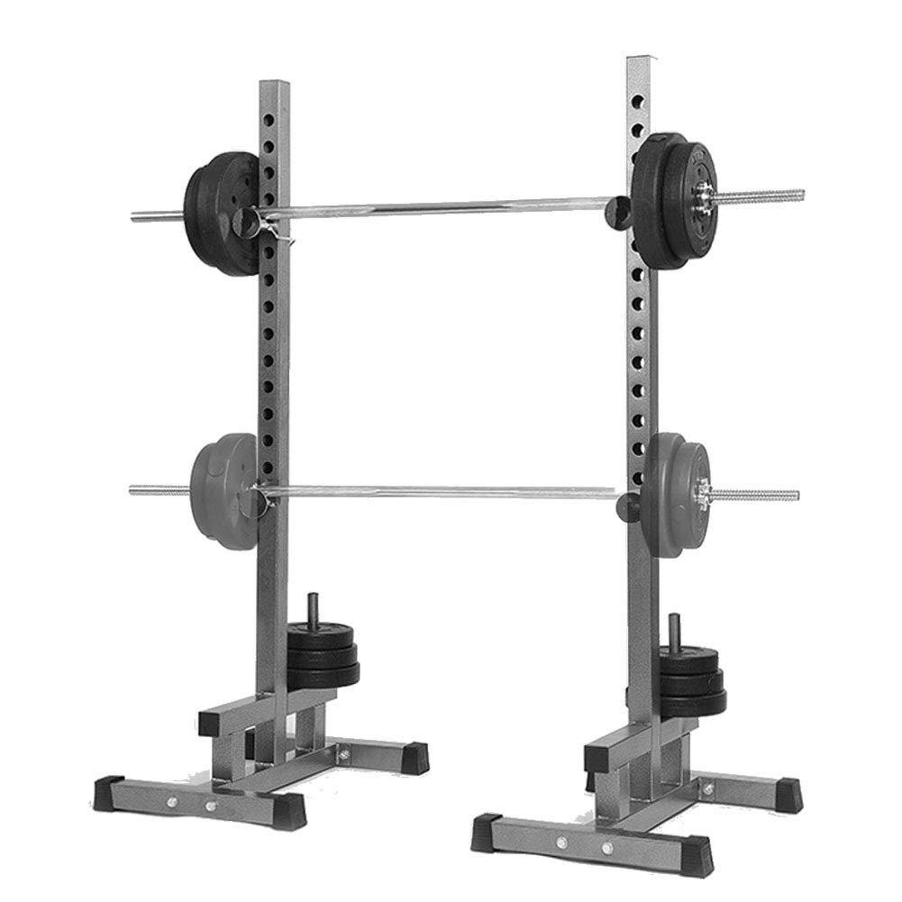EFGS Heavy Duty Weights Bar Barbell Squat Stand Barbell Rack Gym Fitness Power Rack Holder by EFGS
