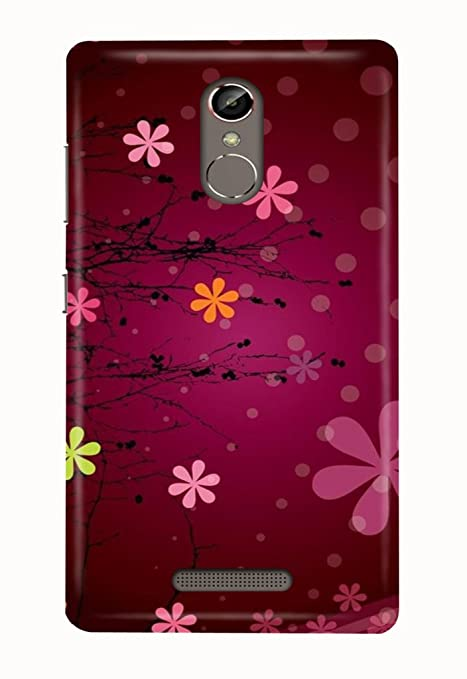best service d4362 ea486 Hupshy® Gionee S6S Cover/Gionee S6S Back Cover: Amazon.in: Electronics