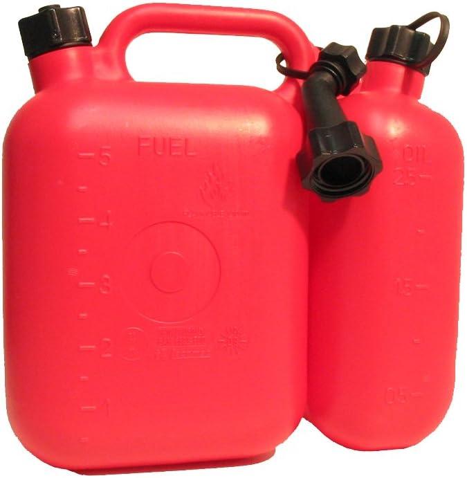Filmer 38140 Kombi Kanister F Benzin U Öl 5 2 5 Ltr Auto