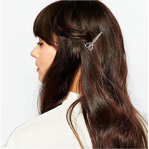 Joyci Women's Scissor Hair Clip, Rose Gold