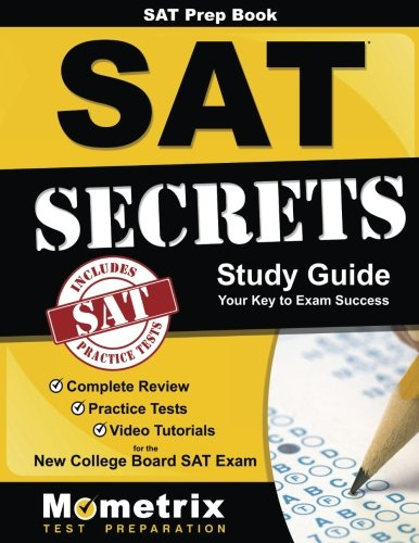 SAT Prep Book: SAT Secrets Study Guide: Complete Review, Practice Tests, Video Tutorials for the New College Board SAT Exam (College Board Sat Math compare prices)