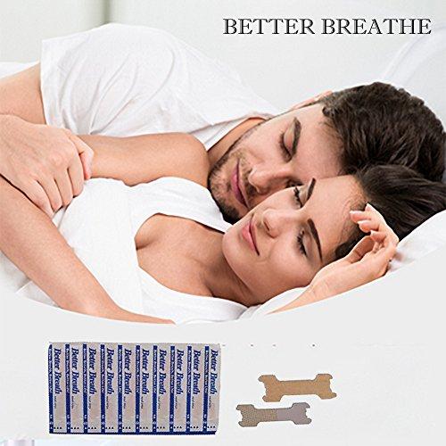Micup Breathe Right Nasal Strips Anti-Snoring Better Breathe Snore Reducing Aids 200 Pcs(66mm19mm)