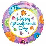 """Happy Grandparent's Day"" Flowers 18"" Balloon Mylar"
