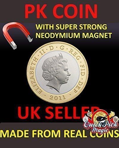 Super Stark Magnetische Zwei Pfund Magnetische Zaubertrick Münze