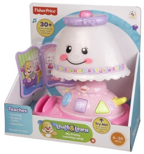 Fisher-Price Laugh & Learn My Pretty Learning Lamp