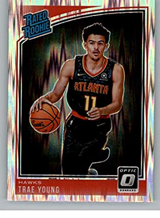 2018-19 Optic Trae Young Rookie Card Rc #198 Sports Mem, Cards & Fan Shop