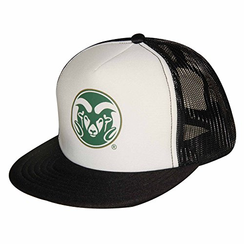 NCAA Colorado State Rams Adult Unisex Foam Front Mesh Back Trucker Cap  Adjustable Size