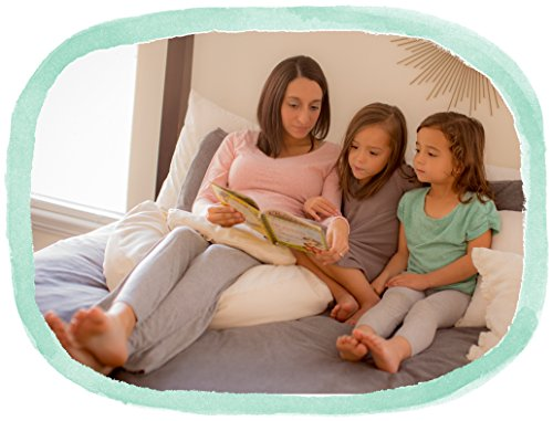 The Nesting Pillow - Organic Nursing Pillow with Washable Slip Cover by Blessed Nest (Image #6)