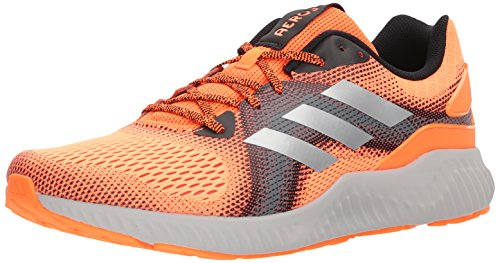 adidas Men's Aerobounce ST m Running Shoe, Warning/Core Black/Grey Five, 14 M US ()