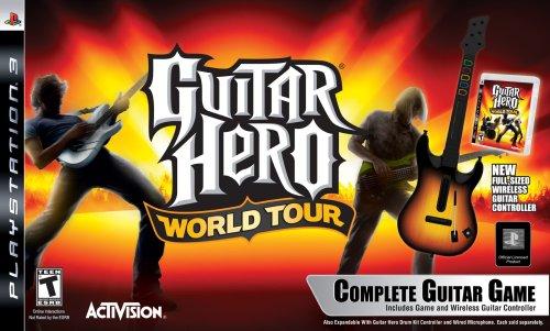 - PS3 Guitar Hero World Tour Guitar Kit