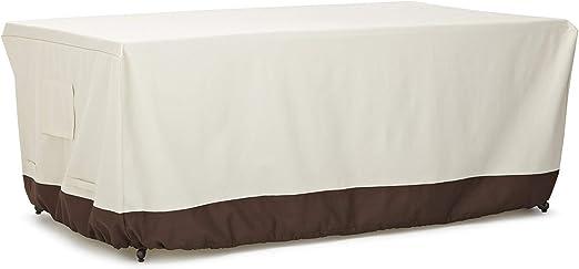 AmazonBasics - Funda protectora para mesa de comedor (182, 88 cm ...