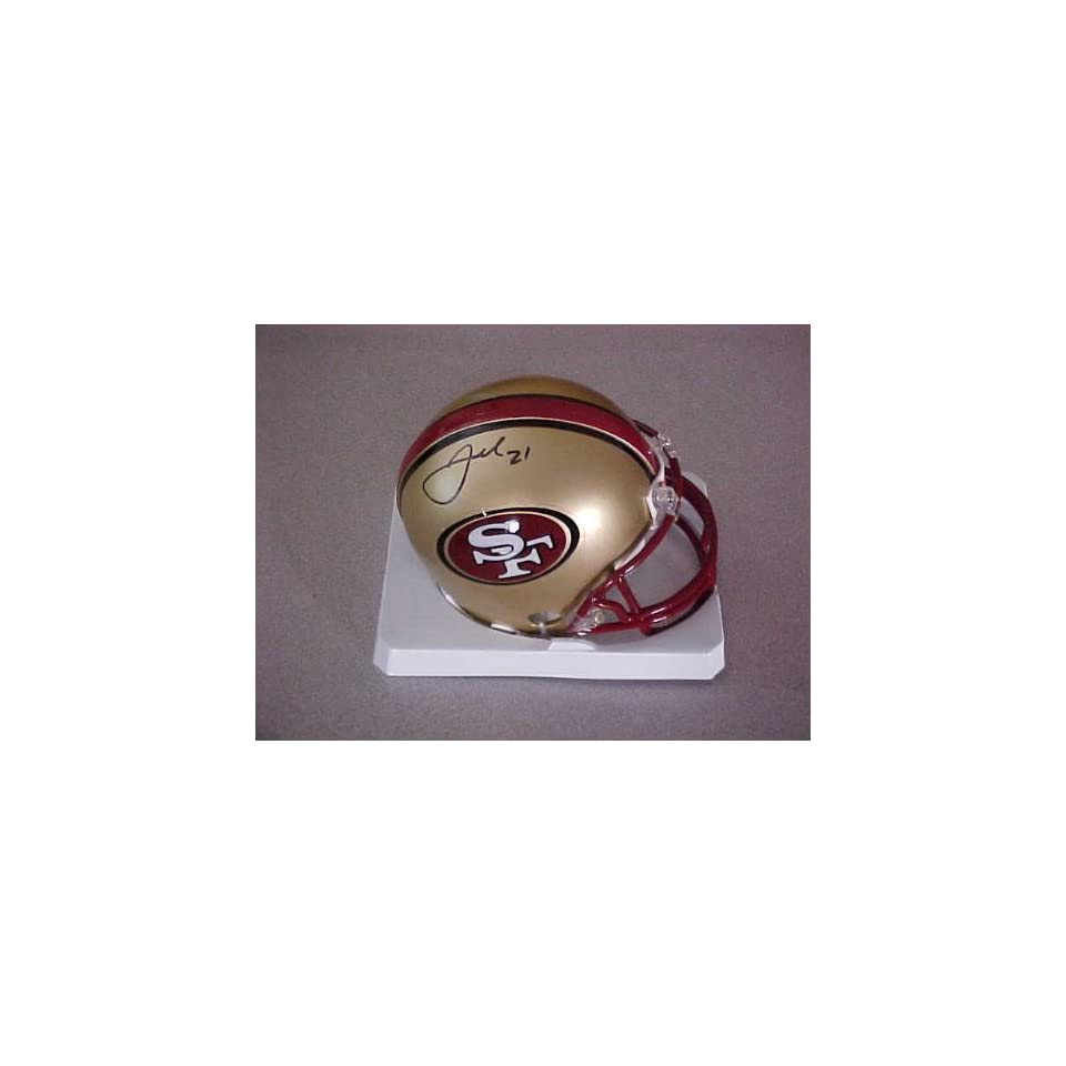 Frank Gore Hand Signed Autographed San Francisco 49ers Riddell Football Mini