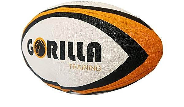 Gorilla Capacitación Kids Rugby Pelota de Entrenamiento (tamaño 4 ...
