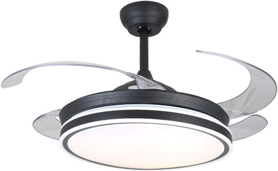 OUKANING Ventilador de Techo con Iluminación y Control Remoto Luz ...