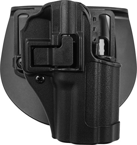 BLACKHAWK! 410579BK-R SERPA CQC Concealment Holster with Matte Finish, Black, Size 79
