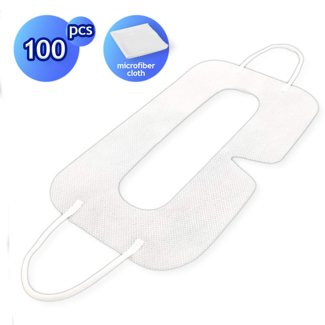 VR Face Mask (100 Pack Disposable) for Oculus Rift, HTC Vibe, PS VR and Gear VR by Other Future by Other Future
