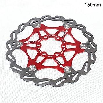 Wovemster Freno de disco de bicicleta MTB, disco flotante de ...