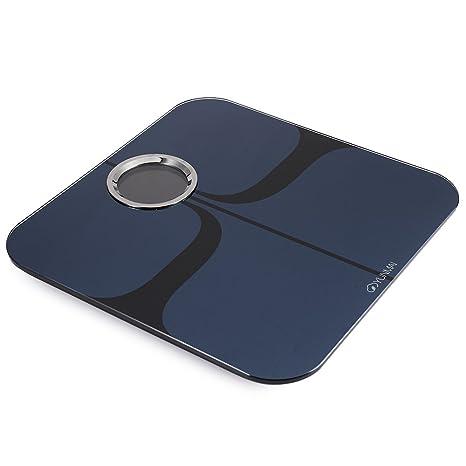 Body Fat YUNMAI Análisis Báscula Cuerpo Escala Ligero 8 Datos Bluetooth Para iOS y Android Phone