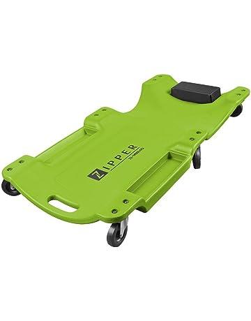 Camilla de mecanico Ziper MRB40 ergonomica 2 bandejas 6 Ruedas Resistente