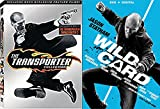 Transporter Collection 1 & 2 + Wild Card [DVD] 2 Pack Crime Action triple feature Movie Set