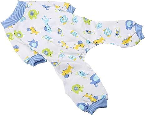 YOUTHINK Pijamas para Mascotas para Perros Pijamas de Dibujos ...
