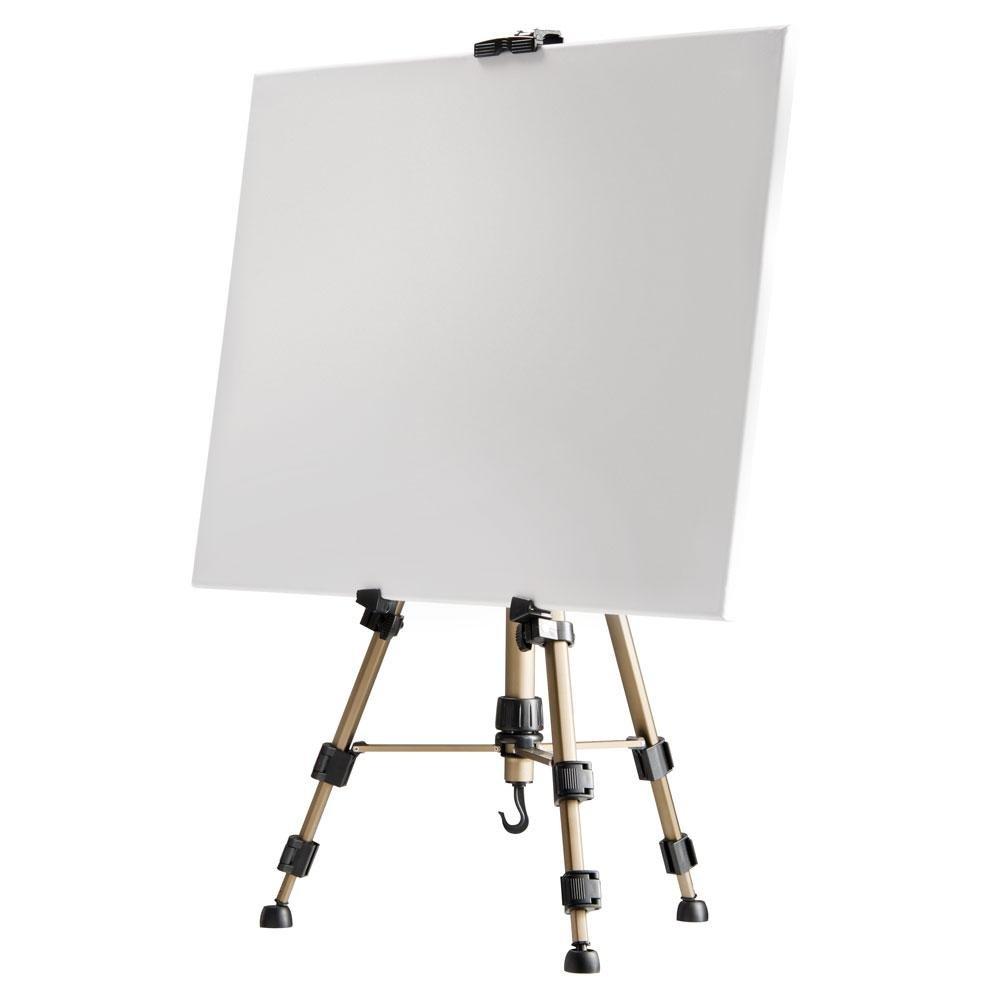 Walimex Caballete de aluminio para pintar cm color dorado y negro